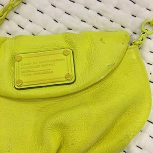 Marc by Marc Jacobs crossbody neon